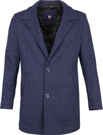 Suitable Kevin Coat Dunkelblau