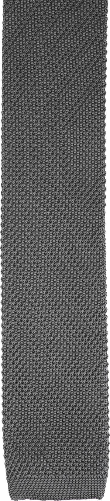 Suitable Knitted Krawatte Grau