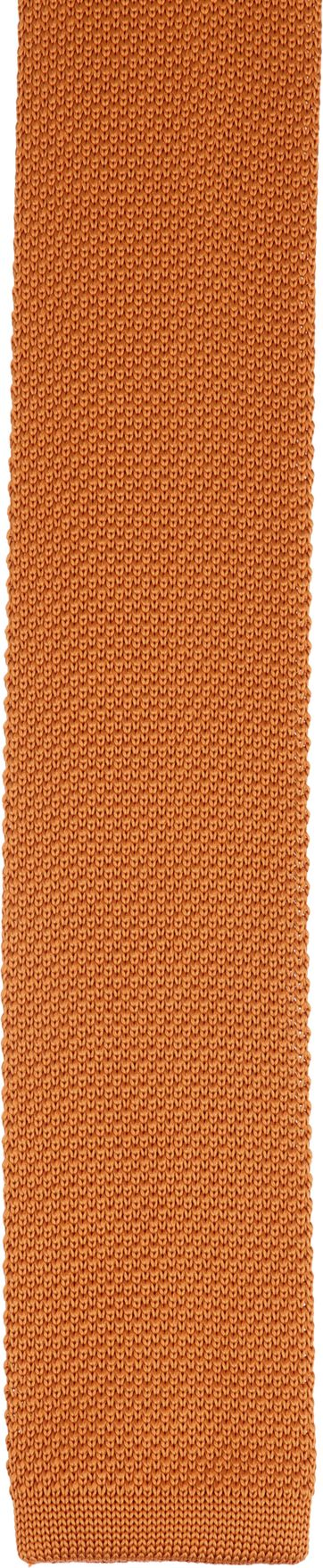 Suitable Knitted Krawatte Orange