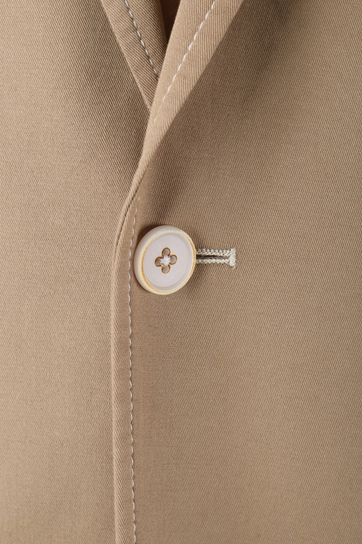 Detail Suitable Kostuum Algodao Khaki