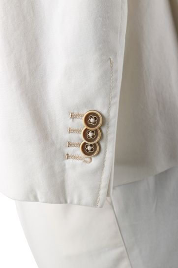 Detail Suitable Kostuum Algodao Off White