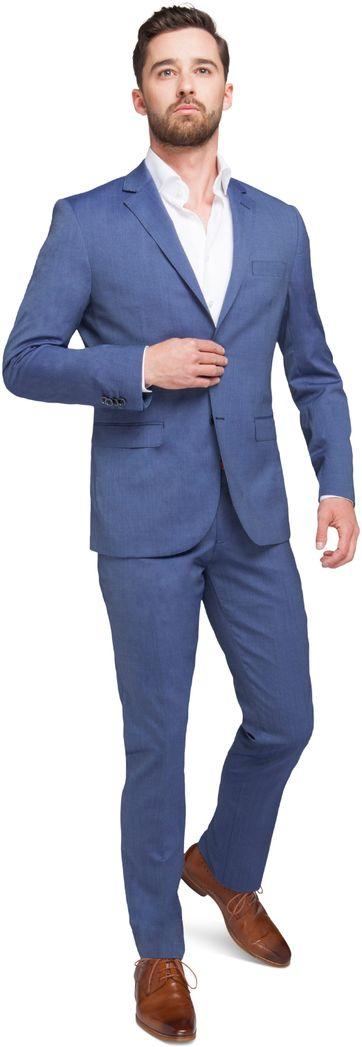 Suitable Kostuum Amsterdam Blauw