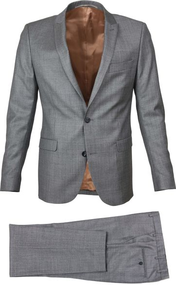 Suitable Kostuum Evans Grey