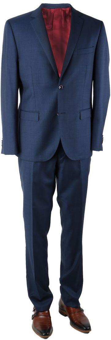 Suitable Kostuum Spello Blauw