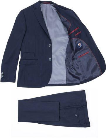 Detail Suitable Kostuum Stuttgart Navy
