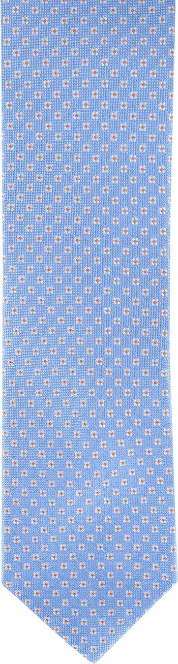 Suitable Krawatte Blumen Hellblau