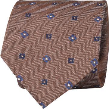 Suitable Krawatte Braun F01-33