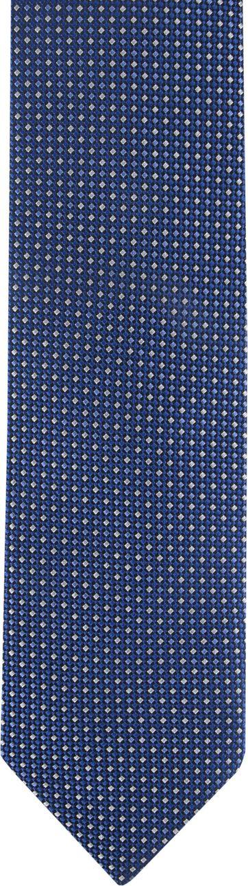 Suitable Krawatte Druck Blau