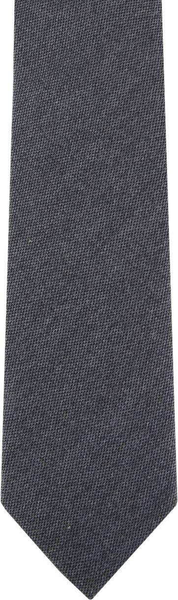 Suitable Krawatte Dunkelgrau