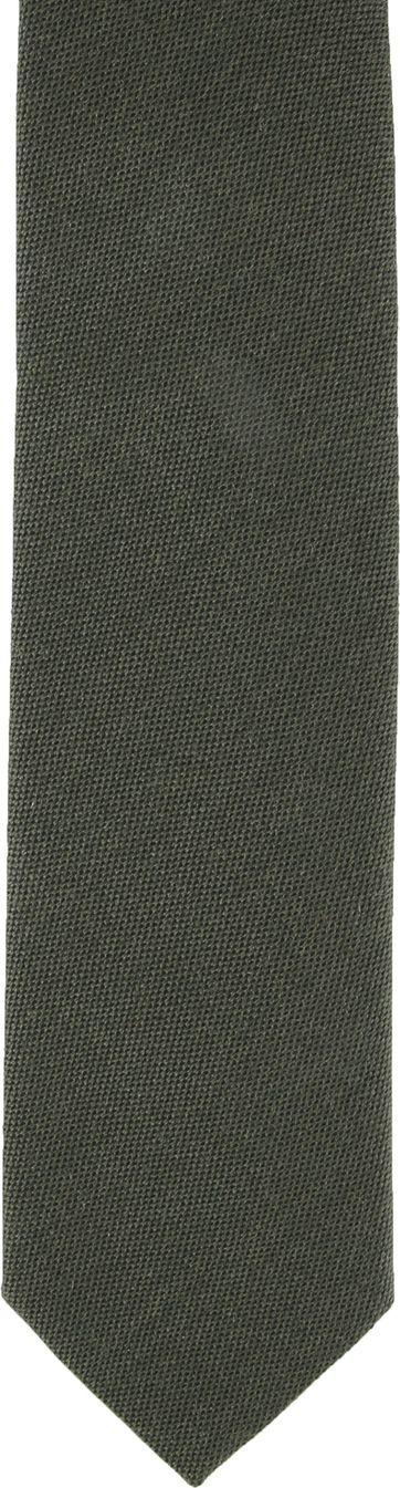 Suitable Krawatte Dunkelgrün