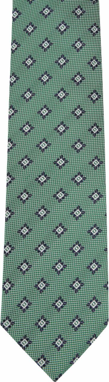 Suitable Krawatte Progetto Dessin Grün