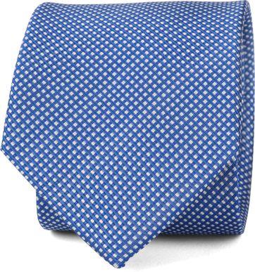 Suitable Krawatte Seide Blau F91-8