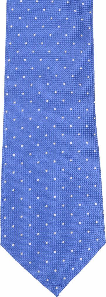 Suitable Krawatte Seide Blau K91-9