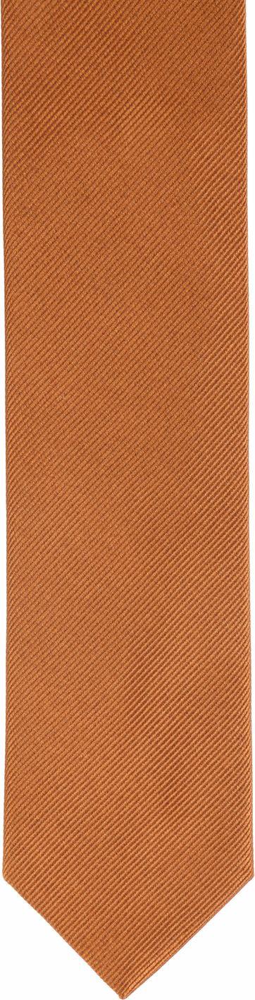 Suitable Krawatte Seide Cognac F12
