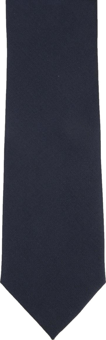 Suitable Krawatte Seide Dunkelblau K91-16