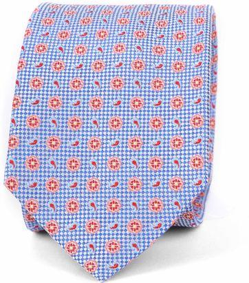 Suitable Krawatte Seide Multicolour Dessin K91-1