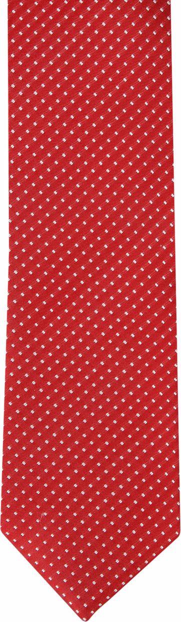 Suitable Krawatte Seide Rot F91-2