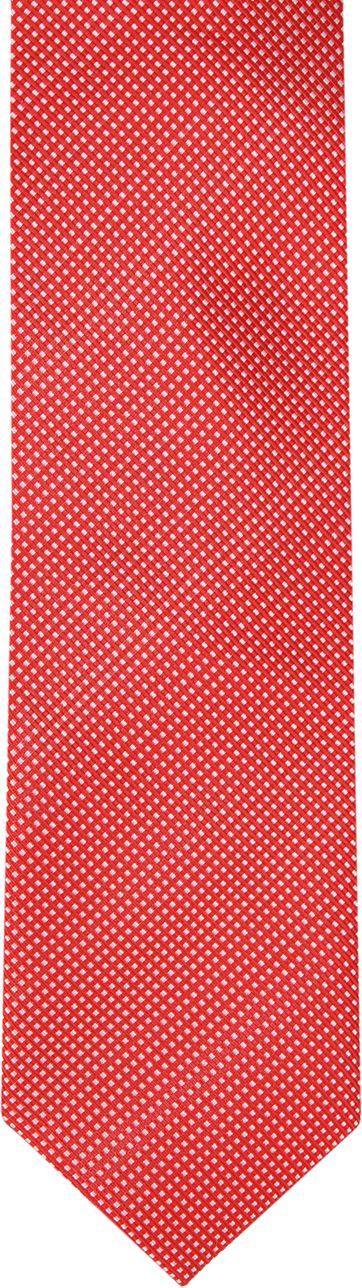 Suitable Krawatte Seide Rot F91-6