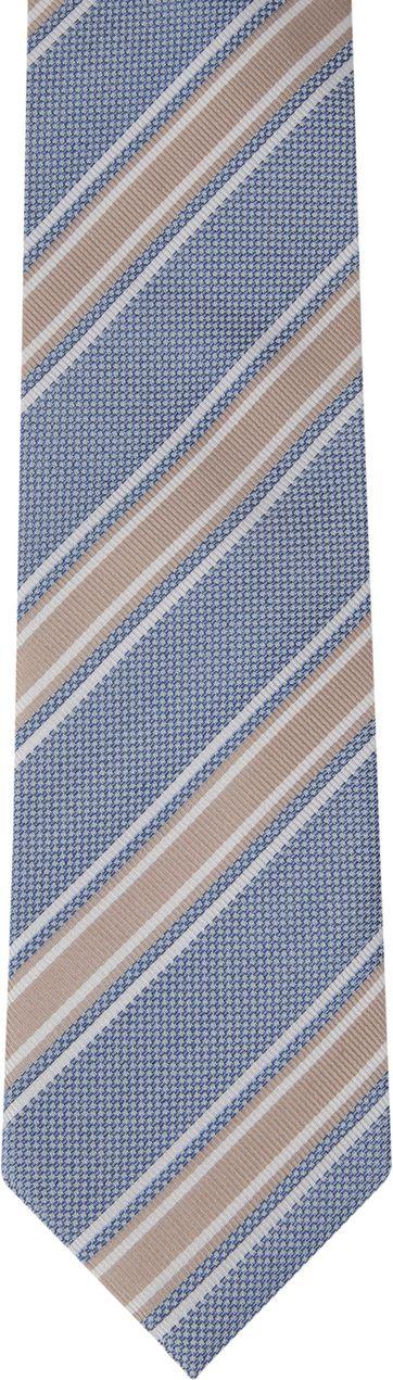 Suitable Krawatte Seide Streifen F91-3