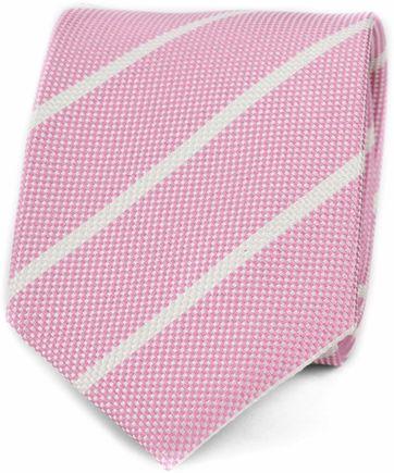 Suitable Krawatte Streifen Pink