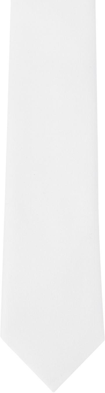 Suitable Krawatte Weiß 900