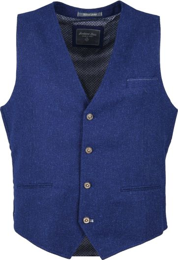 Suitable Kris Waistcoat Blue
