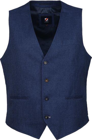 Suitable Kris Waistcoat Dark Blue