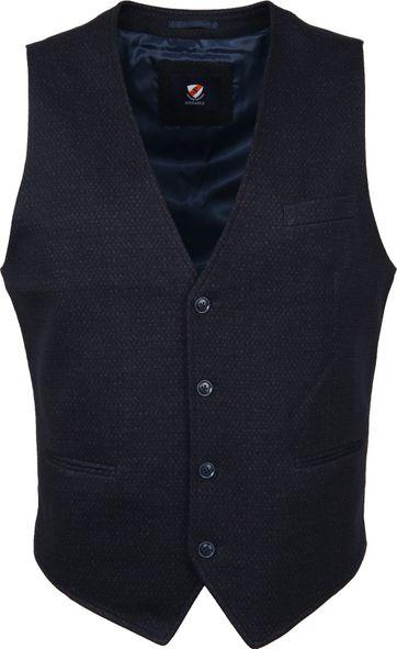 Suitable Kris Weste Design Dunkel Blau