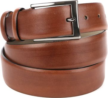 Suitable Leather Belt Light Brown