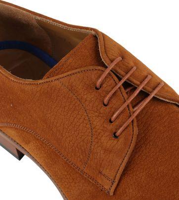 Suitable Leather Shoe Cognac 740