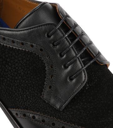 Suitable Leather Shoe Dessin Black