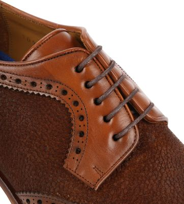 Suitable Leather Shoe Dessin Cognac