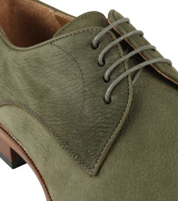 Suitable Leather Shoe Green