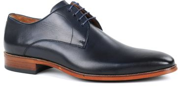 Suitable Leather Shoe Navy Grey