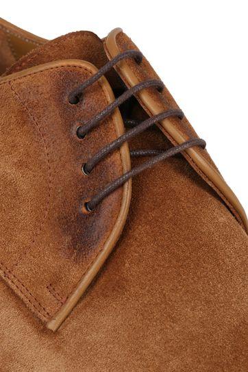 Suitable Leather Shoe Suede Cognac