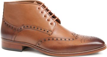 Suitable Leather Shoes Cognac