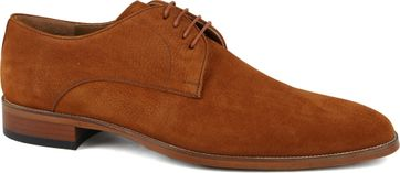 Suitable Leder Herrenschuhe Cognac 740
