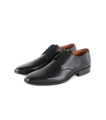Suitable Leder Herrenschuhe Derby Schwarz