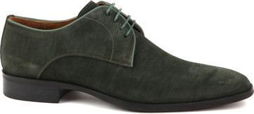 Suitable Leder Herrenschuhe Grün