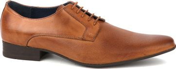 Suitable Leder Schuh Derby Cognac