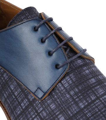 Suitable Leder Schuh Derby Print