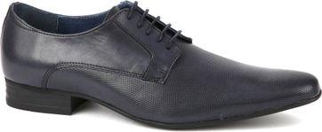Suitable Leder Schuh Derby Schwarz
