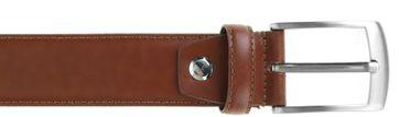Detail Suitable Ledergürtel Cognac 305