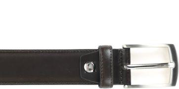 Suitable Ledergürtel dunkelbraun 306