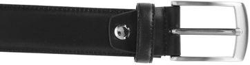 Suitable Ledergürtel Schwarz 304