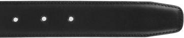 Detail Suitable Ledergürtel Schwarz 304