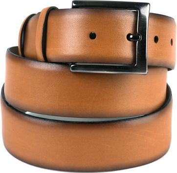 Suitable Leren Riem Cognac