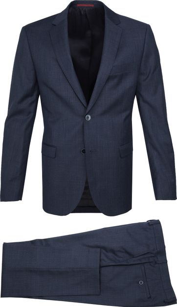 Suitable Lucius Suit Dark Blue
