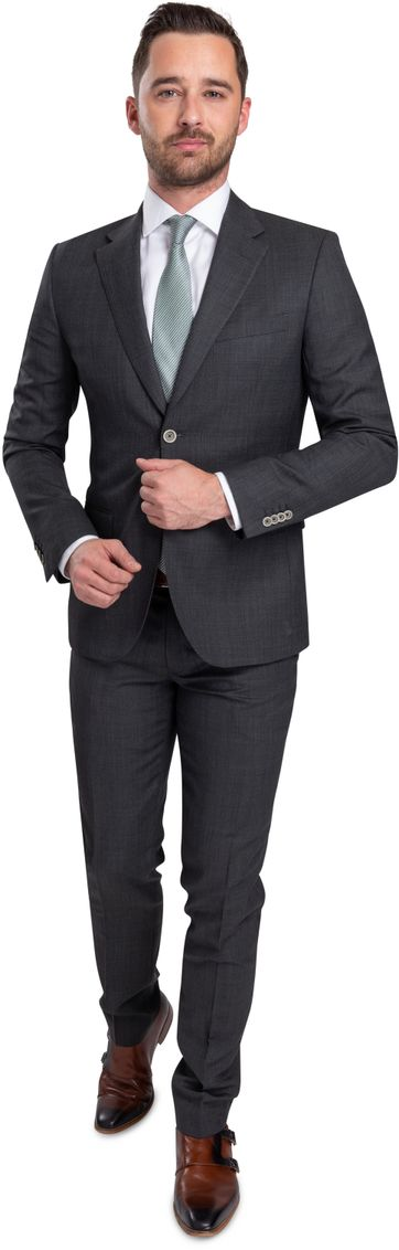 Suitable Lucius Suit Dark Grey