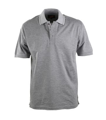 Suitable Luxe Poloshirt Grau